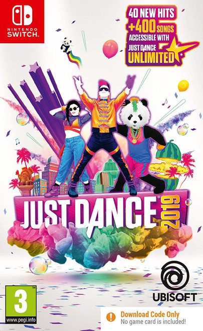 Just Dance 2019 Nintendo Switch Game (Code in a Box)
