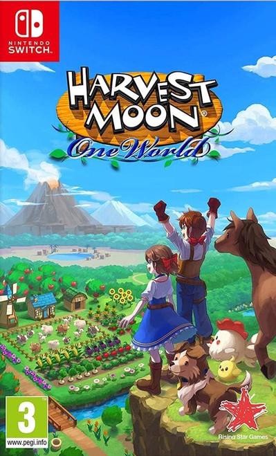 Harvest Moon One World Nintendo Switch Game