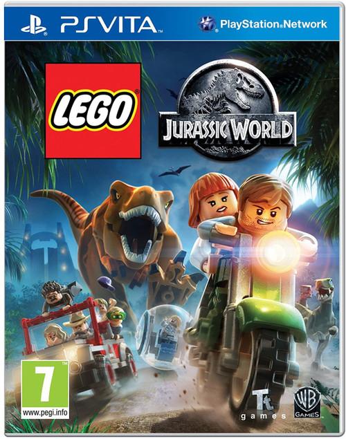 Lego Jurassic World PSVita Game (Italian Box - Multi Language EFIGS In Game)