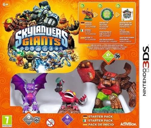 Skylanders Giants Starter Pack 3DS Game (Ita/Ger/Spa Box Multi Language In Game)