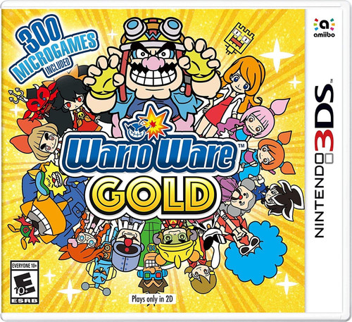 Warioware Gold for Nintendo 3DS Game (French Box - Multi-Language In Game)