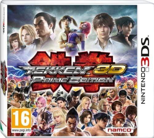 Tekken 3D Prime Edition 3DS Game (Italian Box Multi Language In Game)