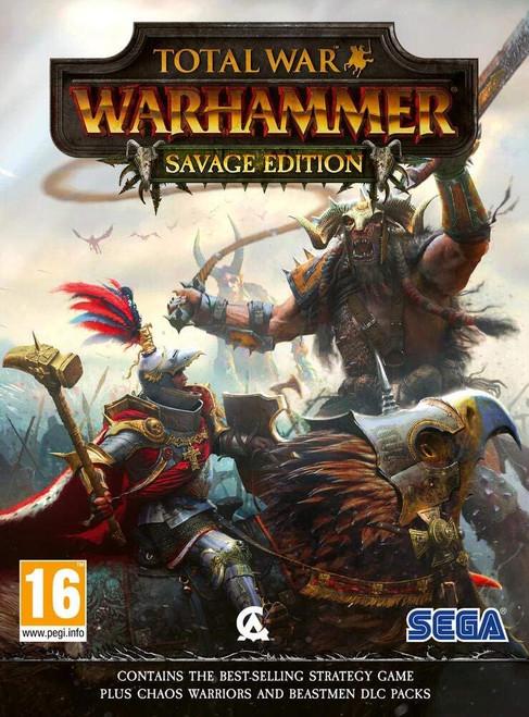 Total War Warhammer Savage Edition PC DVD Game