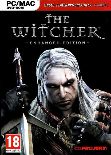 Witcher Enhanced Edition PC DVD Game