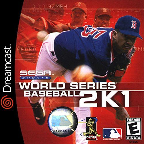 World Series Baseball 2K1 DC Sega Sports US Import Dreamcast Game