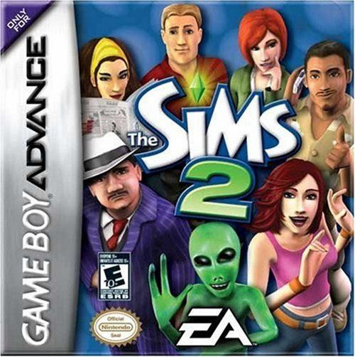 Sims 2 GBA Game (GameBoy Advance)