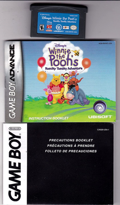 Winnie the Pooh Rumbly Tumbly GBA Game