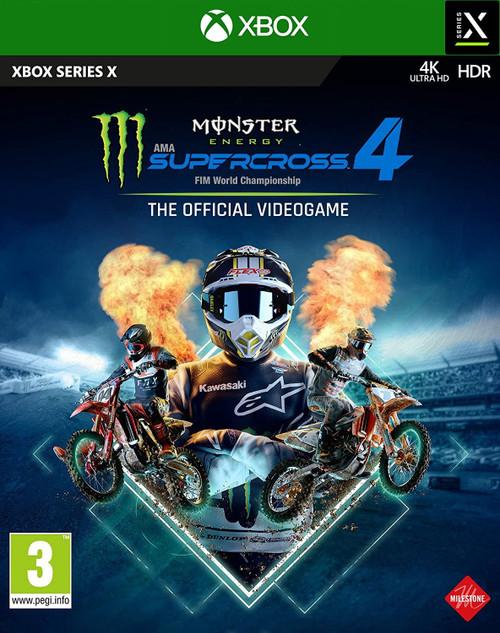 Monster Energy Supercross 4 Xbox Series X Game