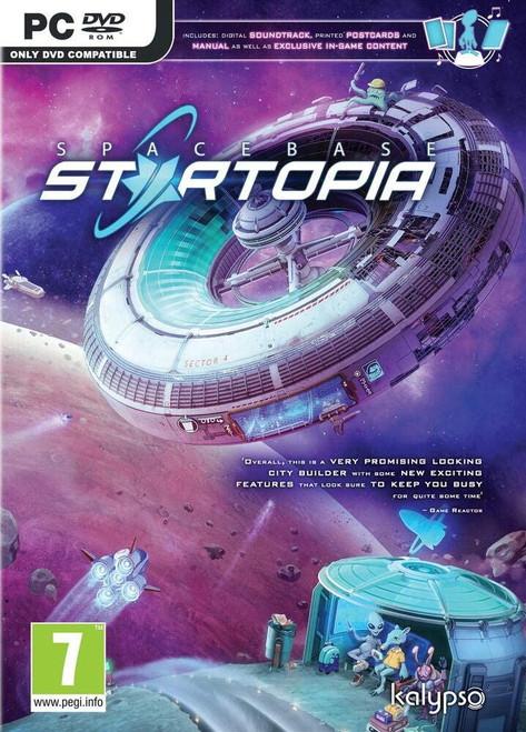 Spacebase Startopia PC DVD Game