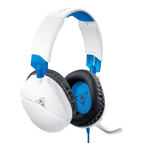 Turtle Beach Recon 70P Gaming Headset For PS4, Xbox One, Switch And PC - White