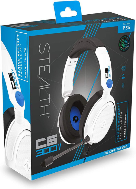 Stealth C6-300V Stereo Gaming Headset For PS5/PS4 - White
