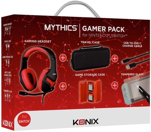 Konix Mythics Nintendo Switch Gamer Pack For Nintendo Switch