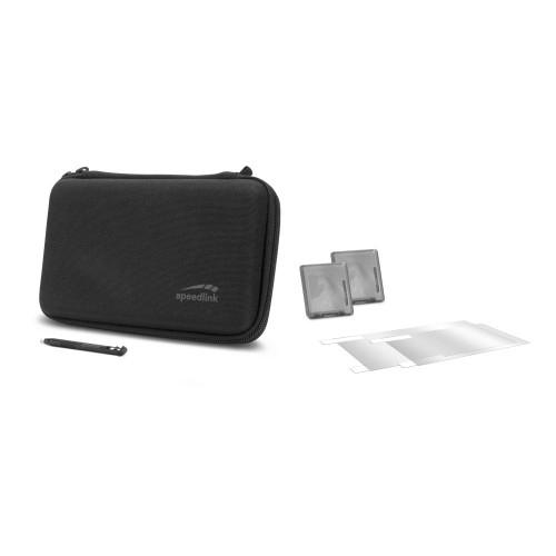 Speedlink 7-in-1 Starter Kit for Nintendo 2DS XL Black (SL-540300-BK)