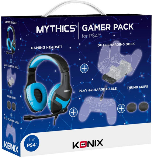 Konix Wired Gaming Headset For PS4 - Camo