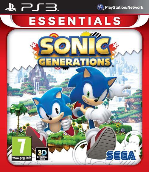 Sonic Generations Essentials Edition PS3