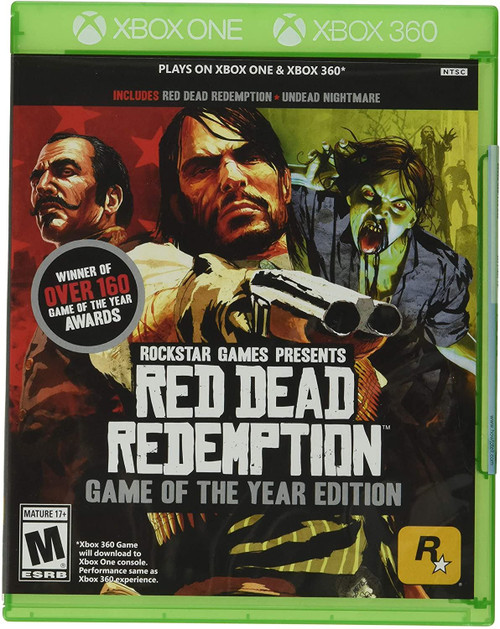 Red Dead Redemption Game of the Year Xbox 360 Game