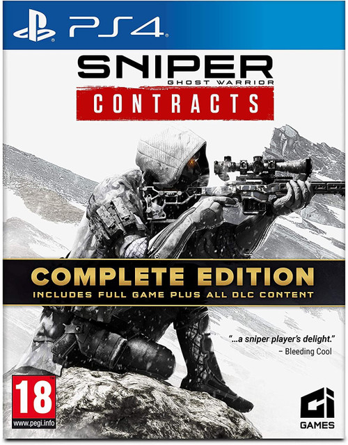 Sniper Ghost Warrior Contracts - Complete Edition PS4 Game