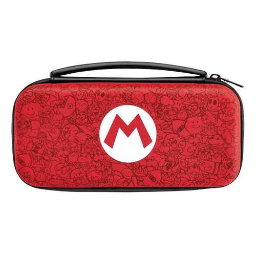 PDP Nintendo Deluxe Travel Case Mario Remix Edition Switch