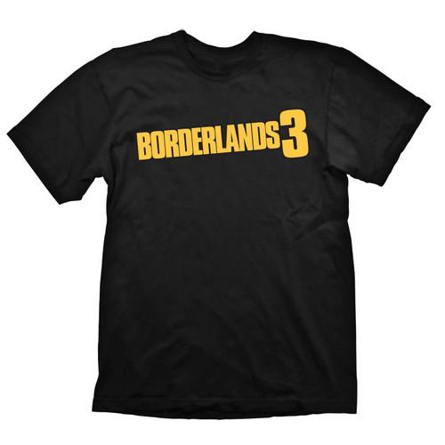 Borderlands 3 Logo Shirt Black Large - Gaming Merchandise