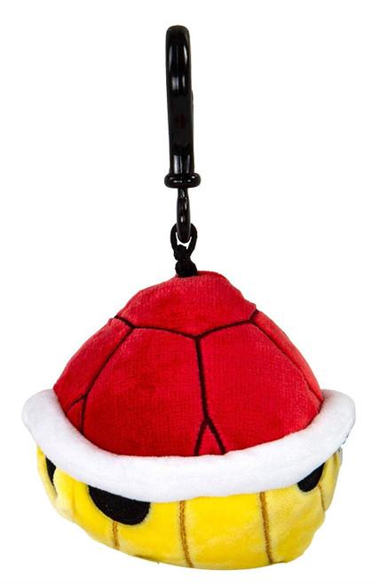 Nintendo - Mario Kart - Spinny Red Shell Clip-on Plush Gaming Merchandise