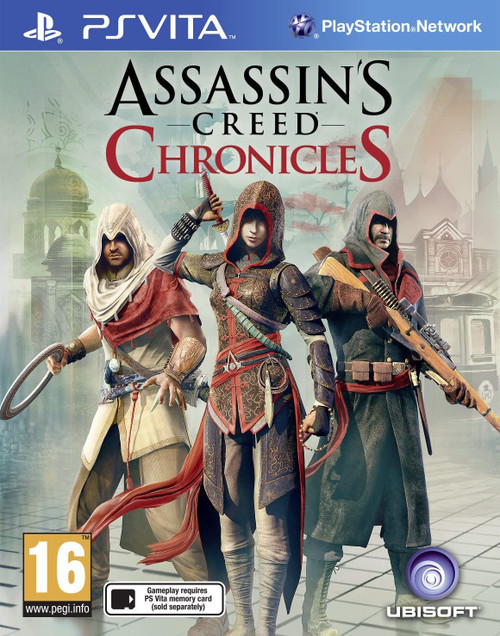 Assassin's Creed Chronicles Pack PS Vita Game (English/Chinese Box)