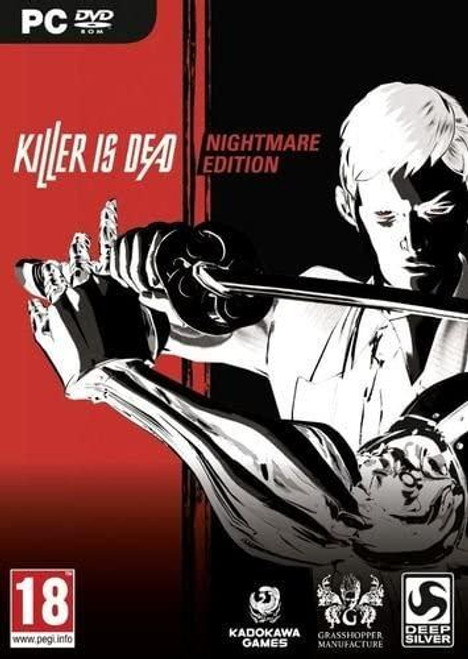 Killer Is Dead Nightmare Edition PC DVD Game