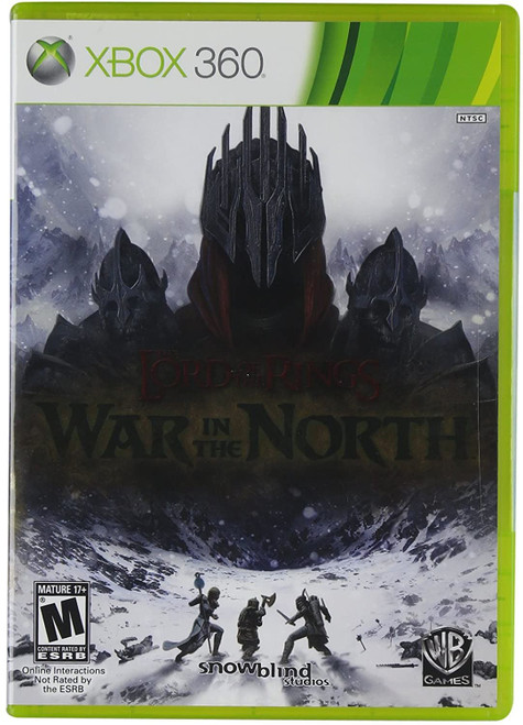 Lord of the Rings War in the North Xbox 360 Game