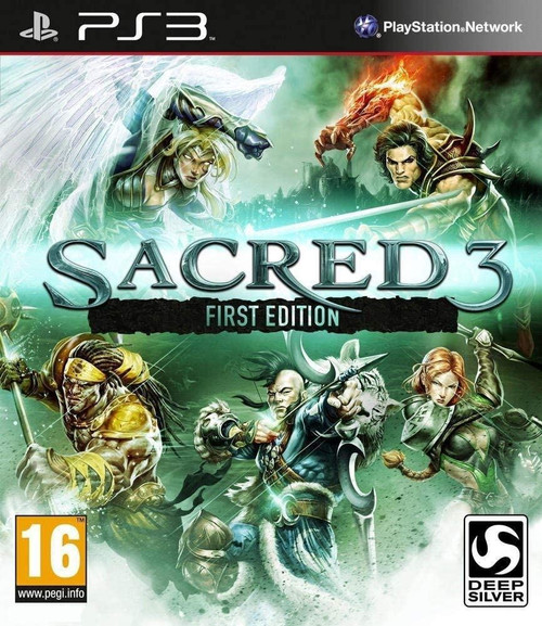 Sacred 3 First Edition PS3 Game (OZ Stock)