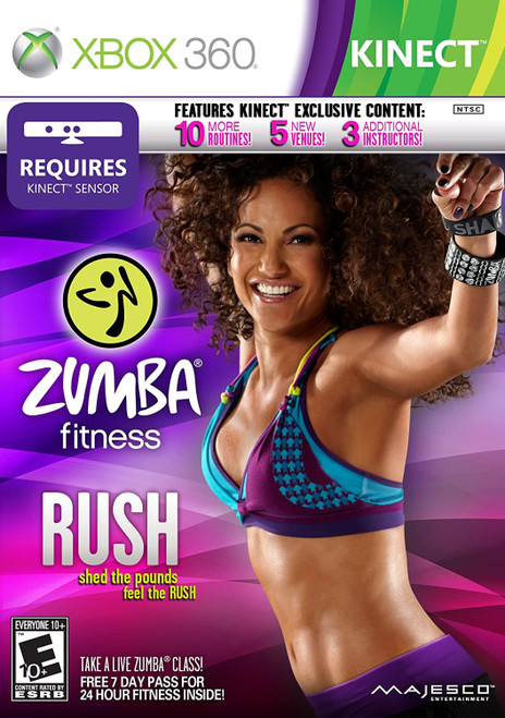 Zumba Fitness Rush Xbox 360 Game (Requires Kinect)