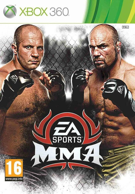MMA Mixed Martial Arts Xbox 360 (French Box - Multi Language in Game)