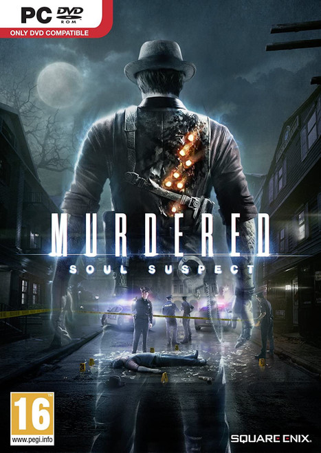 Murdered Soul Suspect PC DVD Game