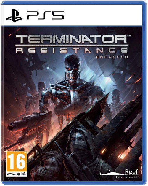 Terminator Resistance Enhanced PS5 Game (French Box - Multi Language In Game)