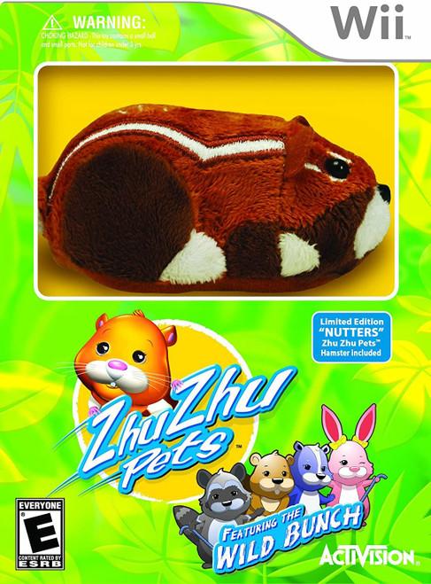 Zhu Zhu Pets Wild Bunch Wii Game (Region Locked to NTSC)