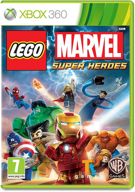 Lego Marvel Super Heroes Xbox 360 Game