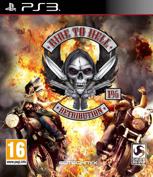 Ride to Hell Retribution PS3 (Asian Box - Multi Language in Game)