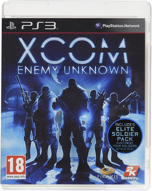 Xcom Enemy Unknown PS3 Game
