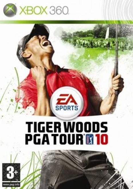 Tiger Woods PGA Tour 10 Xbox 360 Game (Italian Box)