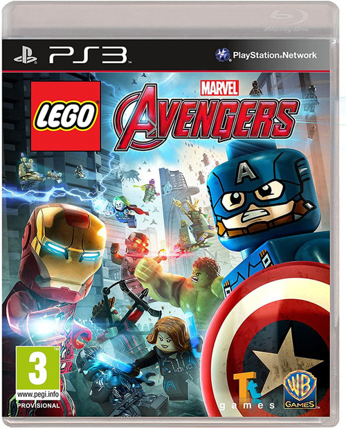 Lego Marvel Avengers PS3 Playstation 3 Game