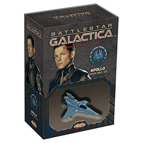 Battlestar Galactica Starship Battles Spaceship Pack - Apollos Viper MK.VII