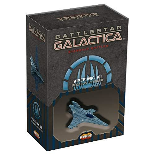 Battlestar Galactica Starship Battles Spaceship Pk Viper MK-VII Pegasus/Veteran