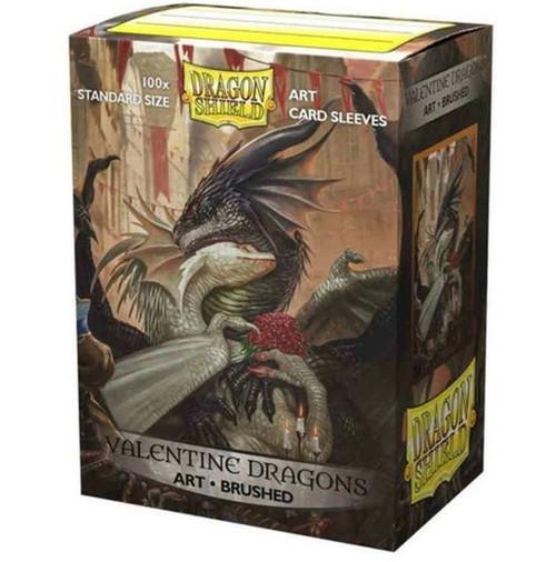 ART Sleeves BrushedValentine Dragon 2021 (100ct In Box)