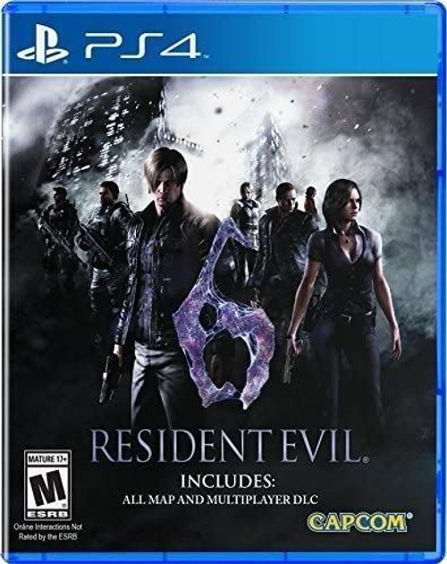 Resident Evil 6 HD PS4 Playstation 4 Game