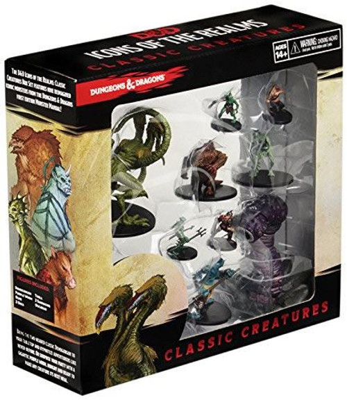 WizKids D and D Icons of the Realms Classic Creatures Box Set