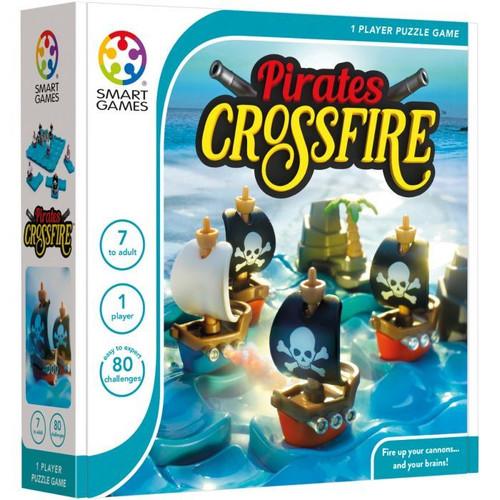 SmartGames - Classics Pirates Crossfire Puzzle Game