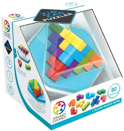 SmartGames - Cube Puzzlers - Zig Zag Puzzler Puzzle Game