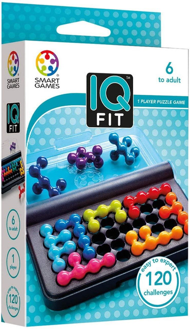 SmartGames - IQ Games - IQ Fit Puzzle Game