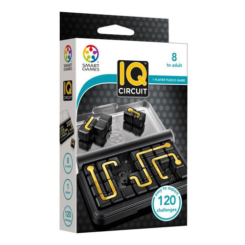SmartGames - IQ Games - IQ Circuit Puzzle Game