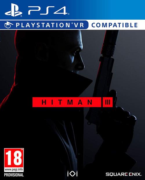 Hitman III PSVR Compatible PS4 Game