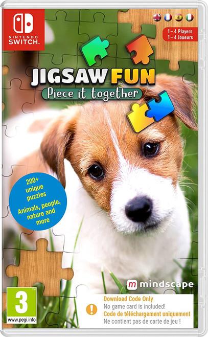 Jigsaw Fun - Piece It Together Nintendo Switch Game (Code In Box)