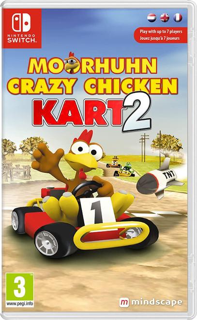 Crazy Chicken Kart 2 Nintendo Switch Game